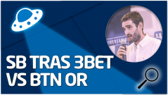 REVISIÓN Juego en SB tras 3bet vs BTN OR