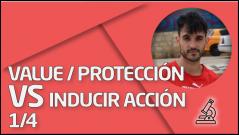 PRÁCTICA Valor/Protección vs Inducir 1/4