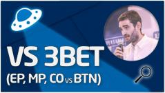 REVISIÓN Juego vs 3bet (EP, MP, CO vs BTN)