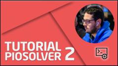 SOFTWARE Tutorial Piosolver II