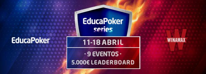 ¡Las EducaPoker Series que se jugarán en Winamax con 5.000€ añadidos!