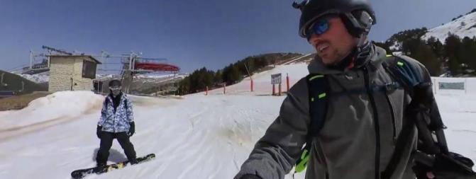 """""""Garu"""" se lleva a """"odineh"""" a la nieve en la última entrada de su canal de YouTube"""