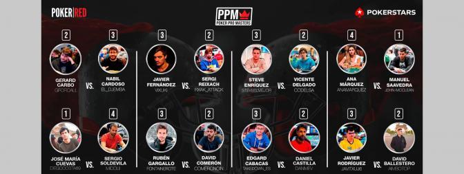 La primera jornada del Poker Pro Masters dejaron muchas alegrías para los nuestros