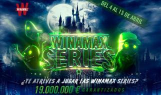 Las Winamax Series garantizarán 19.000.000 € en abril