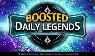 Aprovecha Boosted Daily Legends de partypoker.es