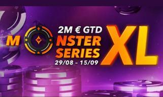 Vuelven las Monster Series XL de partypoker.es con 2.000.000 € GTD
