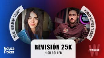 """Dos entregas más de la revisión del High Roller de 25k ganada por """"Amadi"""""""