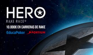 Clasificaciones Provisionales Hero Rake Race de Sportium (08/02)