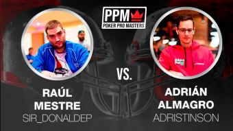 """Ya puedes ver, desde el punto de vista de """"adristinson"""", su partido contra Raúl Mestre en el PPM"""