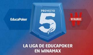 ¡Vuelve Proyecto 5 de Winamax y EducaPoker!
