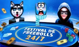 Festival de Freerolls 24/7 en 888poker.es con premios entre sus jugadores