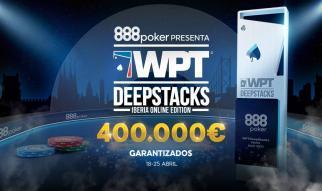 Comienza el WPT DeepStacks Iberia 400.000 € GTD en 888poker.es