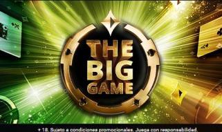 The Big Game garantiza 100k€ en partypoker.es