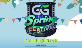 GGPoker celebra el GG Spring Festival con 150.000.000 $ GTD