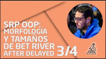 """Tercera entrega de la saga de """"v3rson"""" sobre juego en river tras delayear en turn"""