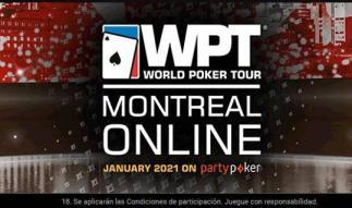 El WPT Montreal Online se juega en partypoker