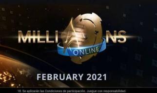 partypoker te invita a jugar el MILLIONS Online desde por 0,01 $