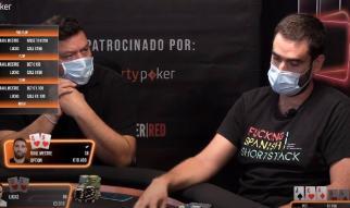 Raúl y el Gran Vía Poker Show
