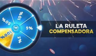 Recupera las comisiones en 888poker.es con la Ruleta Compensadora
