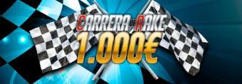 1.000€ en juego en la carrera de rake de febrero de CasinoBarcelona.es
