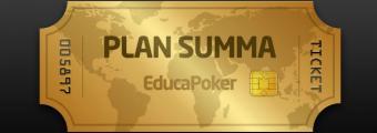 Juega las Golden Poker Series con el Plan Summa de EducaPoker
