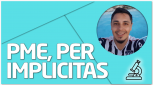 PRÁCTICA Combinar PME, PER e Implícitas